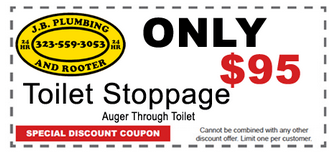 Los Angeles Plumbing Coupons