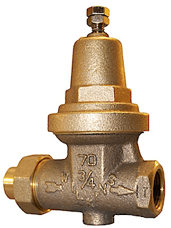We offer Water Pressure Regulator installation services